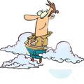 Vai Tu lido mākoņos?